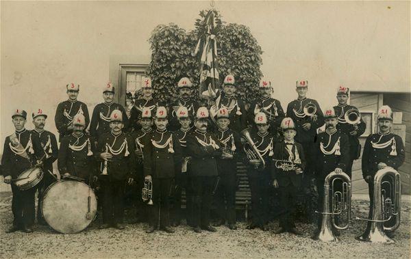 Société de musique l'Avenir en 1921