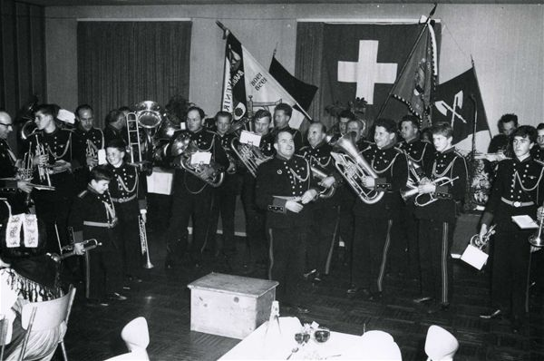 Société de musique l'Avenir en 1962, lors du concert anuel