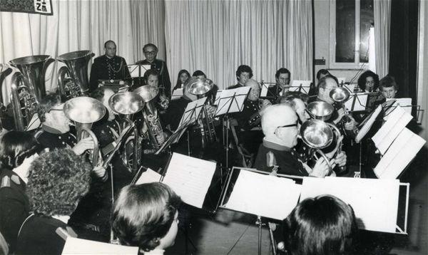 Société de musique l'Avenir en 1978