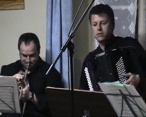 Tango pour Claude, Matthieu Michel, accompagné par Stéphane Chapuis