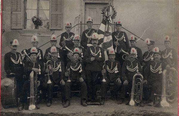 Société de musique l'Avenir en 1914