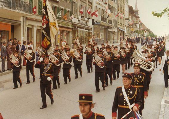 Société de musique l'Avenir en 1975