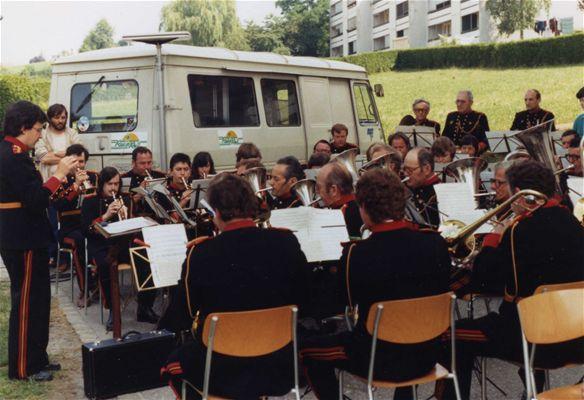 Société de musique l'Avenir en 1983