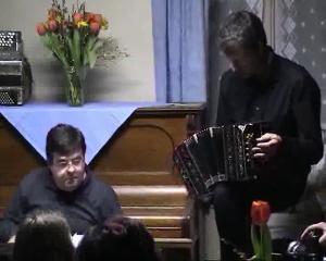 Oblion, Stéphane Chapuis au bandonéon
