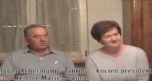 Entretien : Roger et Marie-Jeanne Achermann